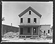 [Abandoned House in Lot, Bridgeport, Connecticut]