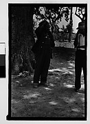 [Two Men Standing Next to Tree, Hale County?, Alabama]