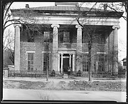 [Brick Greek Revival Building with Ionic Capitals]