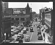 [Fairfield Avenue, From Elevated Position, Bridgeport, Connecticut]