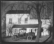 [Clapboard Farmhouse with Ford Model T Pickup Truck in Yard, Ossining, New York]