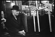 [Subway Passenger, New York City: Man in Bowler Hat]