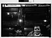 "[Subway Passengers, New York City: Two Women in Conversation Beneath ""Pelham Bay Park"" Sign]"