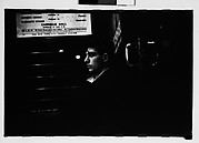 [Subway Passenger, New York City: Young Man in Car Corner]
