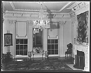 [Salon Interior with Full-Length Mirror, Residence of Gifford Cochran, Croton Falls, New York]