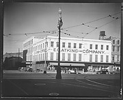 [Canal Street Showing E.C. Atkins and Company Building, New Orleans, Louisiana]