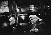 [Subway Passengers, New York City: Two Women in Headscarfs]
