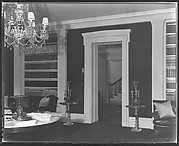 [Living Room Interior, Residence of Gifford Cochran, Croton Falls, New York]