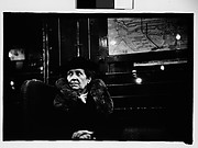 [Subway Passenger, New York City: Older Woman in Hat and Fur Collar]