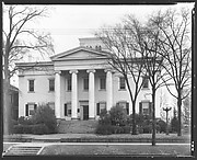 [Greek Revival Building, Executive Mansion, Milledgeville, Georgia]