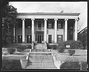 [Greek Revival House with Realtor's Sign on Lawn, Macon, Georgia?]