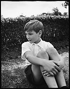[Douglas Burden on Lawn, Bedford, New York]