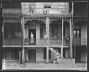 [Back Porch of Balconied House, Mobile, Alabama]