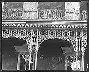 [Cast-Iron Grillwork Detail, Mobile, Alabama?]