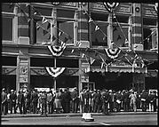 [Shoppers in Front of H.C.F. Koch & Co. Department Store, West 125th Street, New York City]