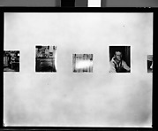 """[Installation View of """"Walker Evans: American Photographs""""  Exhibition at The Museum of Modern Art, New York City]"""