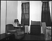 [Living Room of Walker Evans's Apartment, 441 East 92nd Street, New York City]