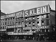[Street Scene in Front of S. Klein-on-the-Square Department Store, Union Square East, New York City]