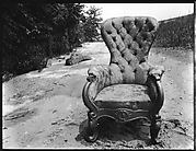 "[""Bishop's Chair"" on Beach at Old Field, Long Island, New York]"