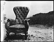 """[""""Bishop's Chair"""" on Beach at Old Field, Long Island, New York]"""