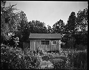 [Rear Façade of Jane Smith Evans's Barn, Old Lyme, Connecticut]