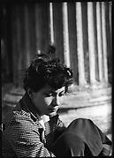 [Jane Ninas on the Balcony of Belle Grove Plantation, White Castle, Louisiana]