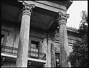 [Columns and Balcony, Belle Grove Plantation, White Castle, Louisiana]