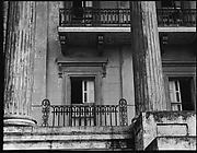 [Columns and Balcony, Belle Grove Plantation, White Castle, Louisiana]