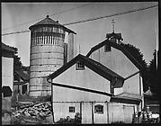 [Farmhouse Buildings and Silo, Probably Vicinity Danbury, Connecticut]