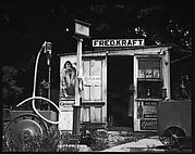 "[Roadside Shack with Sign ""FRED KRAFT""]"