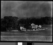 [Farm Buildings, Estate of Suzette Morton Hamill, Lake Forest, Illinois?]