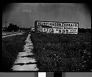 [Roadside Billboard Advertising Hungtington Terrace Bungalows, Possibly Florida]