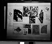 """[Exhibition Panel from """"The ABC Show"""", Picture Collection, New York Public Library]"""