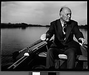 [Karl Bickel in Rowboat, Florida]