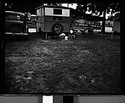 [Trailer with Canopy and Chairs in Camp, Florida]
