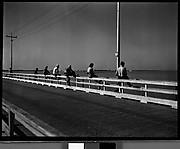 [Fishing from Bridge, Florida]