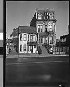 [Second Empire House with Mansard Roof, Chicago, Illinois]
