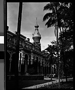 [Oblique View of University Building, Tampa, Florida]