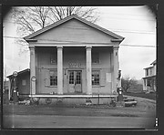 [Greek Revival Building, Post Office and Gas Station, Salem Center, New York]