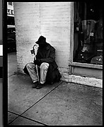 [Man Begging on Street Corner, Florida]