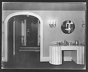 [Dressing Room in Residence of Gifford Cochran, Croton Falls, New York]