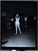 """[Alicia Markova Rehearsing """"Markova"""", Metropolitan Opera House, New York City]"""