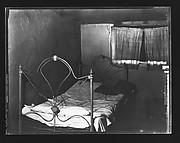 [Bedroom in Boarding House on Hudson Street, Residence of John Cheever, New York City]