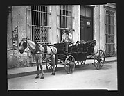 [Horse-Drawn Carriage and Driver, Havana]