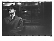 [Subway Passenger, New York City: Man in Hat and Overcoat]
