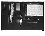 [Subway Passenger, New York City: Man on Times Square Shuttle]