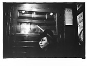 [Subway Passenger, New York City: Woman on Times Square Shuttle]