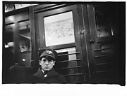 [Subway Passenger, New York City: Western Union Telegram Boy]
