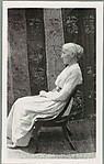 [Copy of Photograph Showing Seated Woman in Profile]