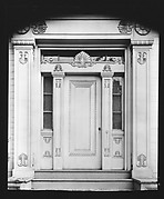 [Greek Revival Doorway with Acanthus Trim]